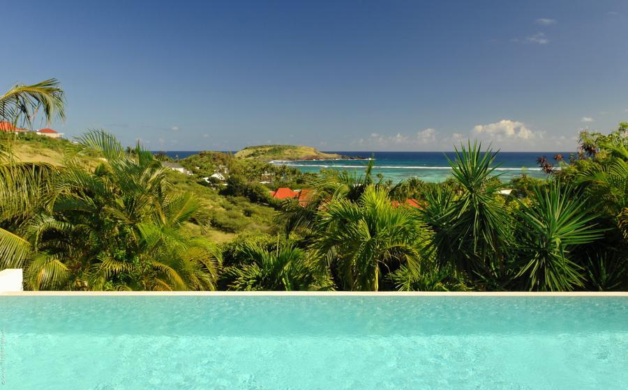 Vue panoramique de Blue Lagoon