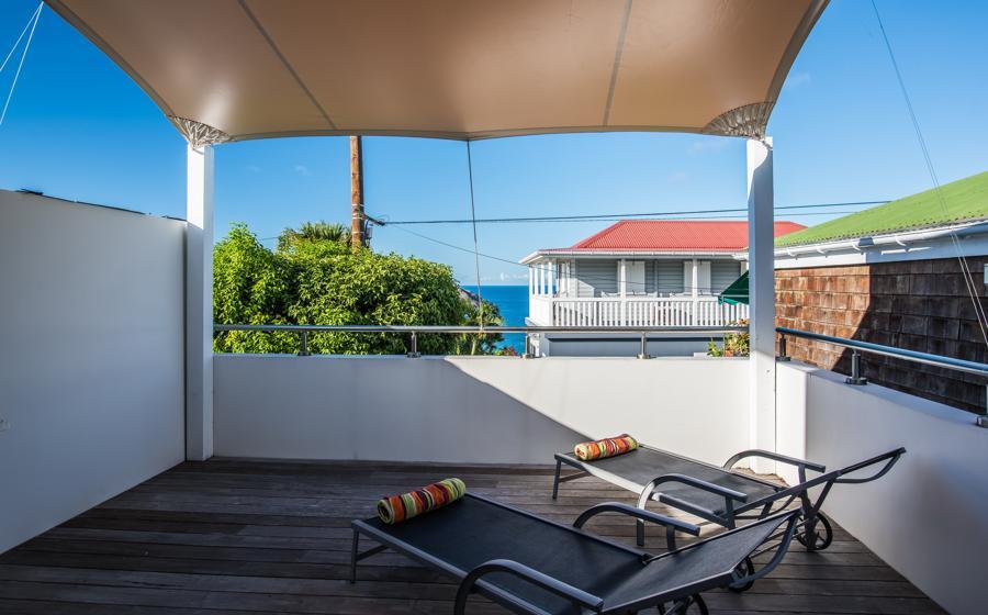 Panoramic view of Grenadine villa